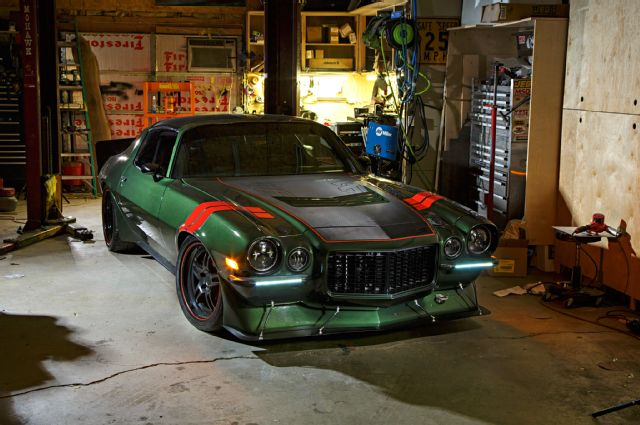 1973 chevy camaro garage